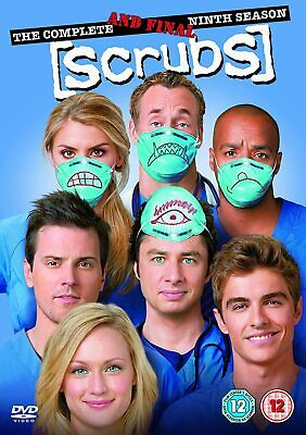 SCRUBS Complate Series 9 DVD 9th Nineth Ninth Season Nine Brand New UK R2 Sealed