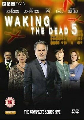 Waking the Dead Complete Series 5 DVD Brand New and Sealed UK Region 2 Original