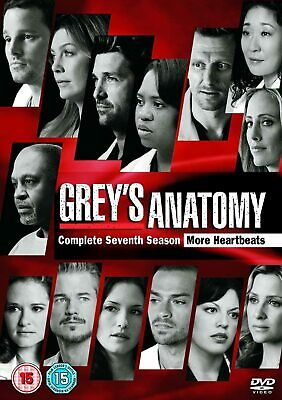 GREY'S ANATOMY COMPLETE SERIES 7 DVD Box Set Season New Sealed UK 7th Greys