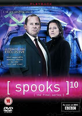 SPOOKS COMPLETE SERIES 10 DVD Season Brand New Sealed UK Release 10th Tenth