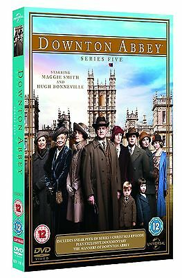 Downton Abbey Complete Series 5 Dvd Collection New Box Downton Dontown Donton Uk