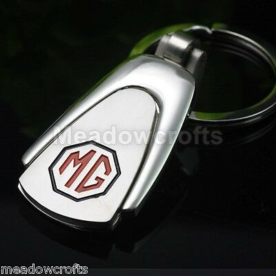 MG Key Ring NEW with Gift Box - UK Seller - Car - Silver
