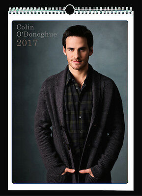 Colin O'Donoghue 2017 Wall Holiday Calendar Once Upon a Time Captain Hook