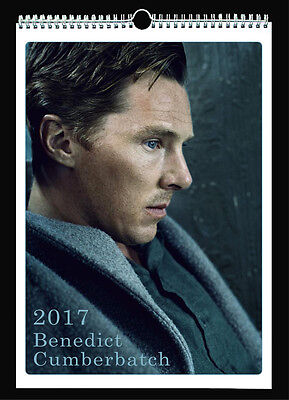 Benedict Cumberbatch 2017 Wall Holiday Calendar Sherlock The Imitation Game