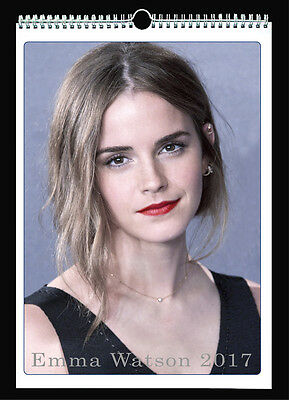 Emma Watson 2017 Wall Holiday Calendar Harry Potter Hermione Granger Colony