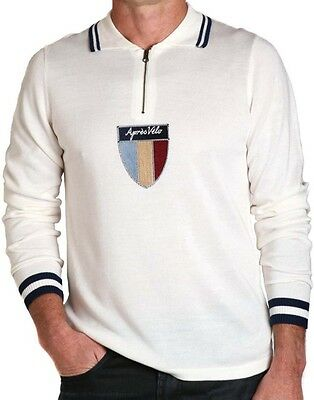 New Mens T-Shirt Apres Velo Maglia Wool Knit Jersey Long Sleeve