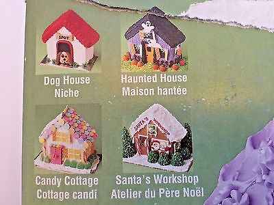 """Wilton Cake Pan Gingerbread House Stand Up 8.75"""" x 9"""" x 3"""""""