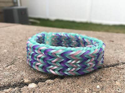 Rainbow Loom- Triple Fishtail Bracelet