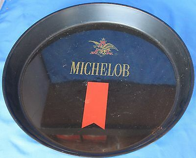 Old Plastic Michelob Serving Tray beer bar pub