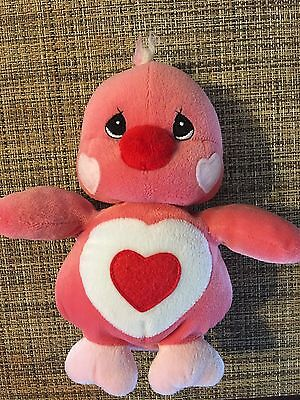 Love Bird Valentine Pink Red Heart Precious Moments Tender Tails 2000