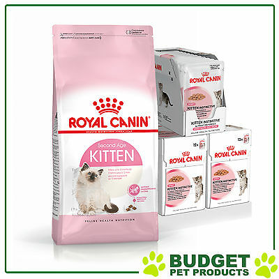 Royal Canin Monthly Bundle Cat Food Kitten Gravy For Cats
