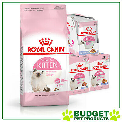 Royal Canin Monthly Bundle Cat Food Kitten Jelly For Cats
