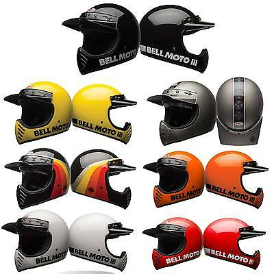 *SHIPS SAME DAY*  Bell Moto-3 Motorcycle Off Road Dirt Adventure Helmet