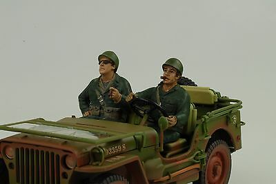 US Army Driver Driver Soldier Set 2 Figure 1:18 Figurines American Diorama