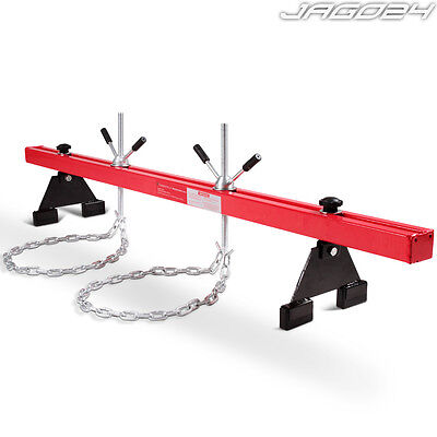 Engine Support 500kg Capacity Double Beam Bar Stand Motor Lifting Gearbox Garage