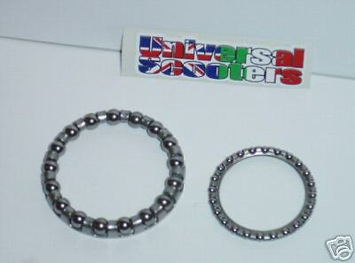 Vespa Steering Bearings - Top and Bottom races V90,PK50,PX125,T5,PX200