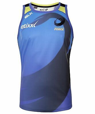 Western Force 2016 Training Singlet 'Select Size' S-XL BNWT