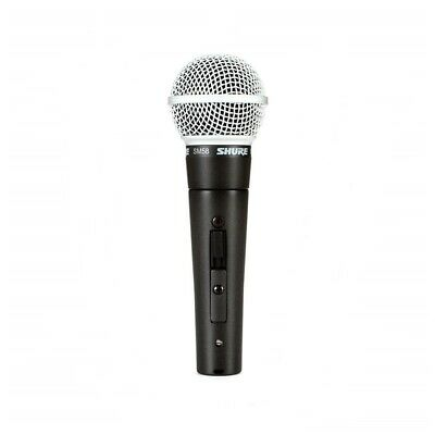 Shure SM58S Vocal Microphone with on / off Switch Live Vocal Mic