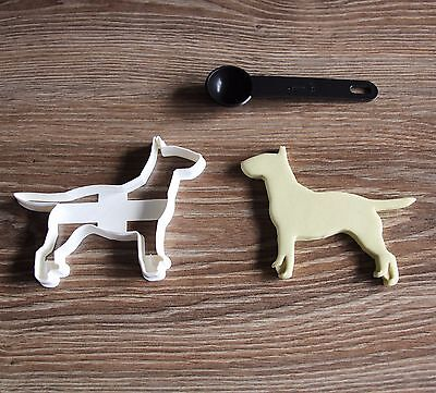 Bull Terrier Cookie Cutter Dog Pup Pet Treat puppy Pupcake topper