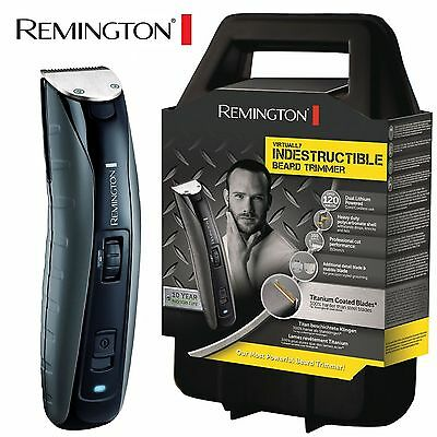 Remington Mens Indestructible Rechargeable Lithium Beard Hair Trimmer - MB4850
