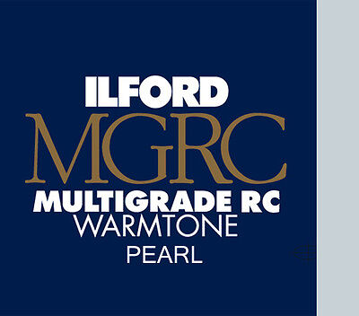 Ilford Warmtone Resin Coated Pearl 5x7 100 Sheets