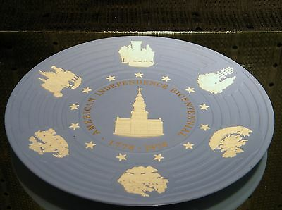 "Wedgwood Collector Plate, ""American Independence Bicentennial 1776 - 1976"""
