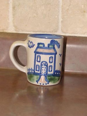 M.A.Hadley for Arielle All Gone Childs Blue Stoneware Mug