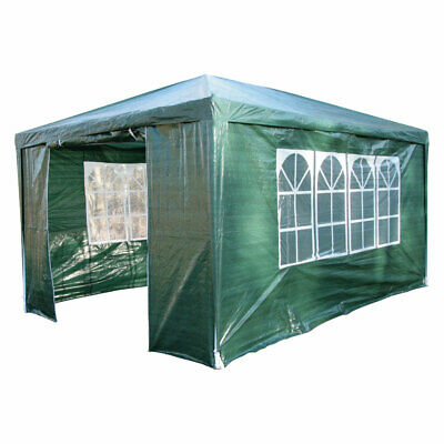 AirWave 3m x 4m Party Tent Marquee Gazebo FREE WINDBAR Incl Waterproof 4 Sides