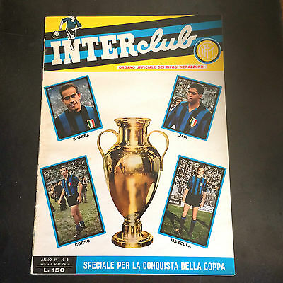 1964  CHAMPION LEAGUE  COPPA CAMPIONI INTER MILAN v REAL MADRID