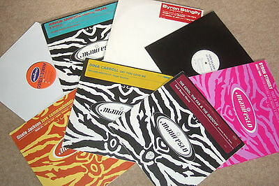 "8 x 12""   Manifesto Records Collection        HOUSE CLASSICS!!"