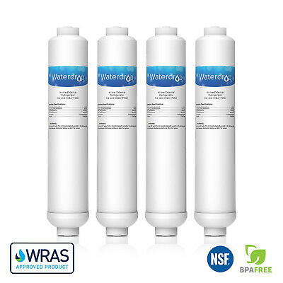4 x Waterdrop Fridge Filter Replacement for LG BL-9808, BL-9303, 5231JA2012A