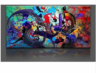 Huge WALL Modern Abstract on Canvas decorative Oil Painting Art NO frame