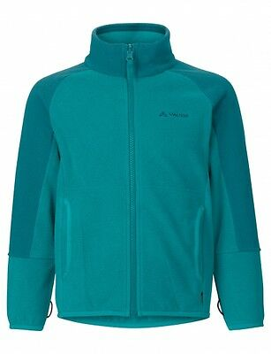 Vaude Kinder Fleecejacke, Fleece Jacke, Kinderhaus Gr: 134 / 140  in blau