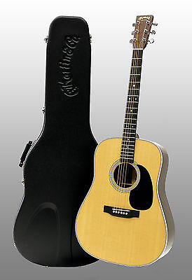 Martin D-28 Standard Series Solid Spruce Acoustic Guitar with Hardshell Cas