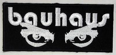 BAUHAUS embroidered strip patch The Sisters OF Mercy Alien Sex Fiend The Cure
