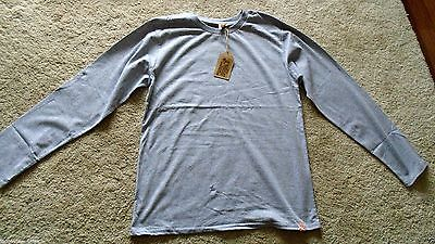 Job Lot Mens New X5 Long Sleeve Tshirts Jumper  Free Postage Grey Size L Large