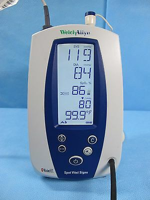 Welch Allyn 420 Spot Vital Signs Monitor 42MTB SpO2, Temp, NIBP, with Warranty