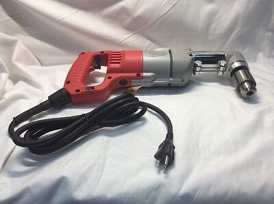 """Milwaukee #3107-6 1/2"""" D-handle Right Angle Drill With Case"""