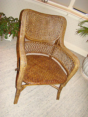 antique bergere chair - conservatory