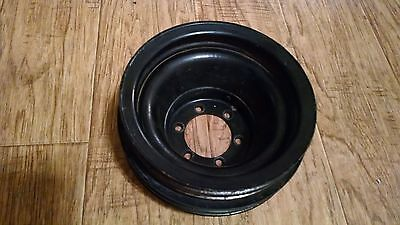 Mopar 361-440 or 318-360, 4 Groove Crank Pulley for A.C. Dodge Plymouth Chrysler