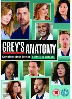 Grey's Anatomy Complete Series 9 DVD Box Set Season New Sealed UK 9th Greys