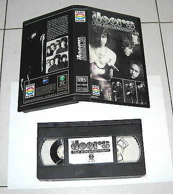 Vhs THE DOORS The Documentary – OTTIMO Jim Morrison