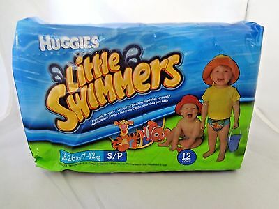 Huggies Little Swimmers Disposable Swimpants, Size Small 16-26 Pounds , 11 ct