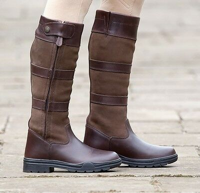 Shires Broadway Long Leather Country/Equestrian Boots **RRP £149.99**