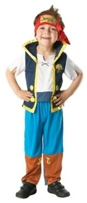 Kids Jake And The Neverland Pirates Pirate Party Costume - Small