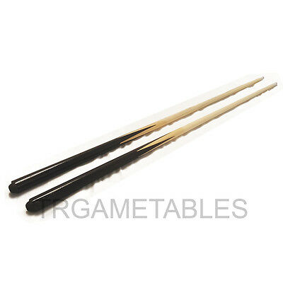 """2x 36"""" / 48"""" Short Wooden 2-Piece Pool Billiards Snooker Cue for Kids Small Room"""