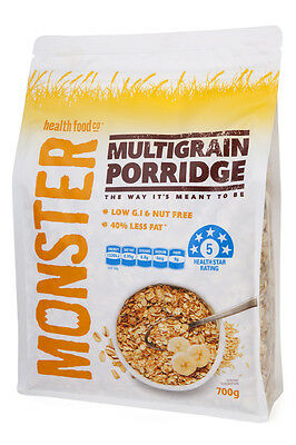 Multigrain Porridge - 40% Less Fat, Low GI - 6 x 700g