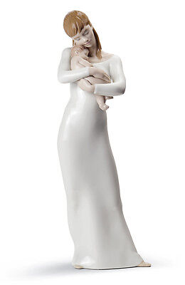Lladro Goodnight My Angel Baby Child New Mom BNIB 8714