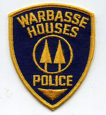 VINTAGE Warbasse Houses Police Patch // Brooklyn New York // New York City Co-Op