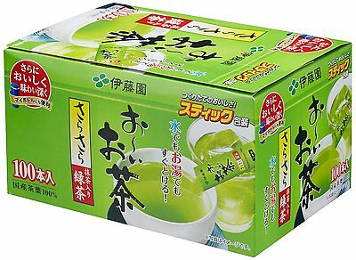 New Itoen Hey Green Tea containg Matcha Green Tea powder 100 sticks F/S
